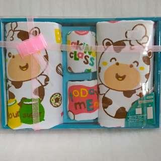 1 Set Handuk Bayi / Gift Handuk Bayi