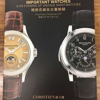 Rolex auction catalogue