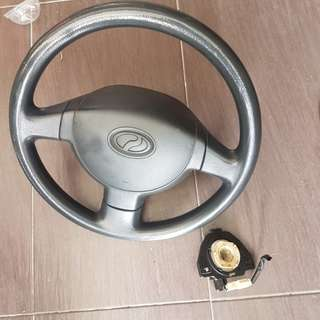 Steering myVi & roller