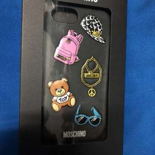 Moschino iphone 6/6s/7 phone black soft toy case