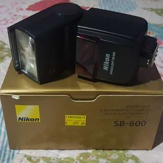 Nikon speedlight SB600