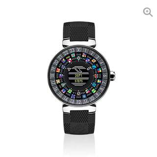 Louis Vuitton LV TAMBOUR HORIZON GRAPHITE 42 Smartwatch