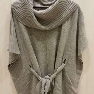 毛料造型罩衫