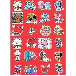 ( preorder) Bt21 sticker
