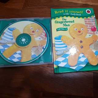 The gingerbread man and cd