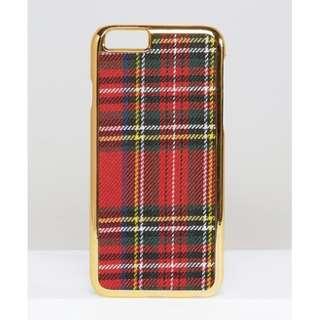 [iPhone] WAH LONDON Tartan iPhone 6/6s Case 手機殼 英倫格仔 ASOS Apple