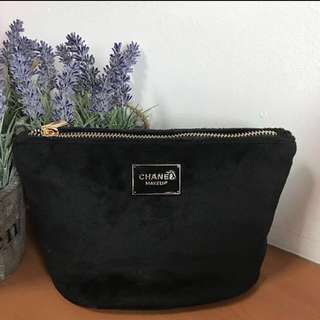 ✅INSTOCKS✅ Chanel Inspired Makeup Pouch Makeup Bag/Cosmetic Pouch/ Multipurpose Bag