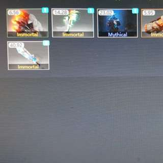 Selling dota 2 arcana and items