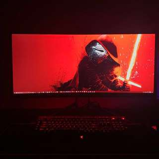 "Acer Predator X34A Curved 34"" G-Sync Quad HD Gaming Monitor"