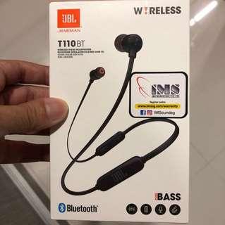 Brand New JBL Bluetooth Earphones remote control