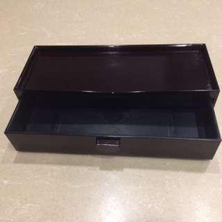 🚚 日式漆器抽屜式筷盒