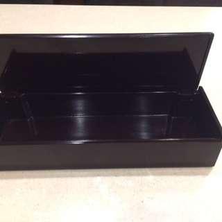 🚚 日式漆器掀蓋式筷盒