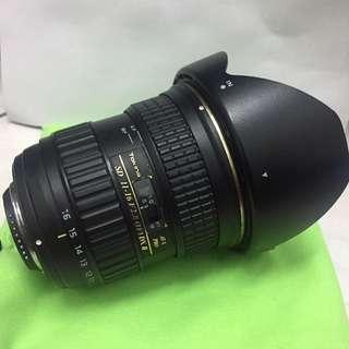 Tokina 11-16 mm Nikon Mount