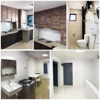 FOR RENT: Serangoon Master/common rooms (new toilets+furnitures)