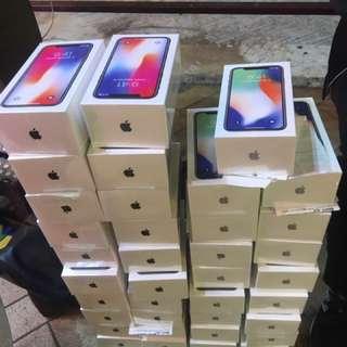 Apple iPhone iPhonex iPhone X 64GB 256GB 黑色 灰色 銀色 全新行貨