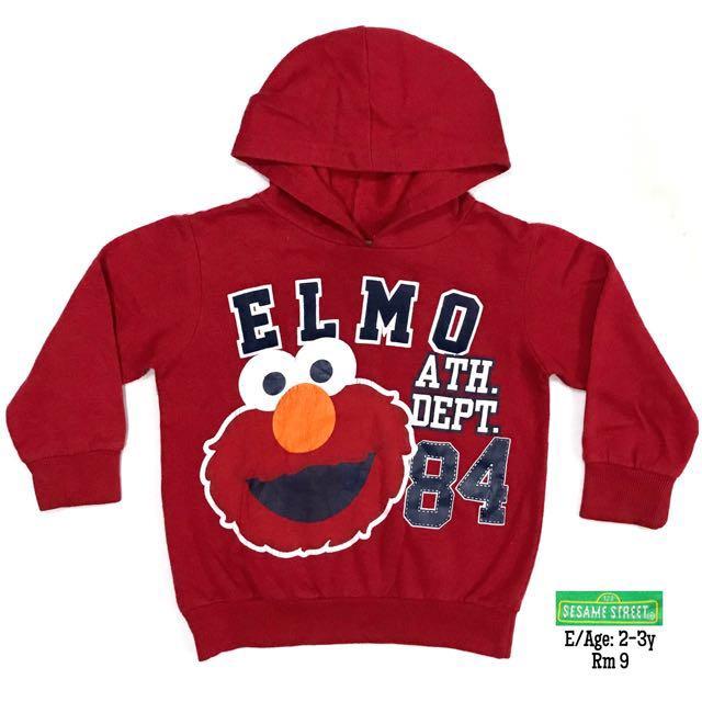 2-3y Elmo hoodie