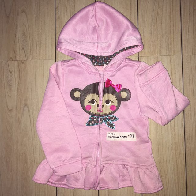 3T Pink Hoodjacket