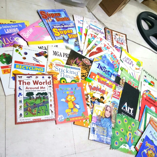 43pcs. Art & Crafts +Coloring books For Kids