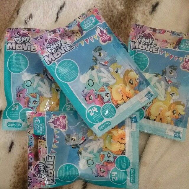 5 x my little pony the movie mystery bags