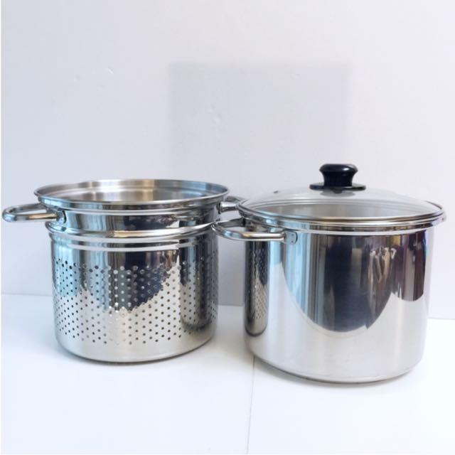 鍋寶附濾網湯鍋
