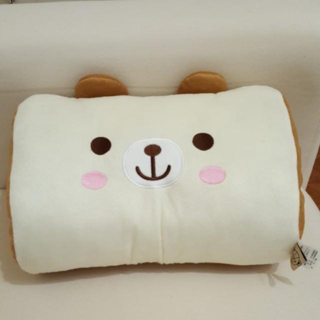 熊熊暖手抱枕