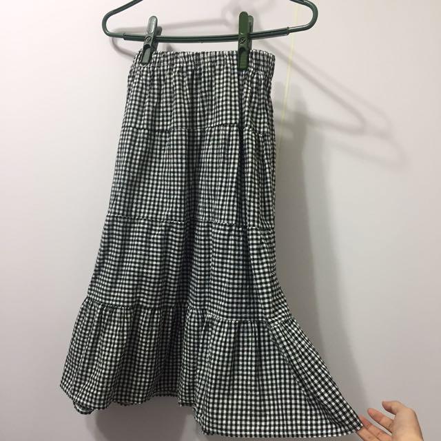 韓版魚尾裙
