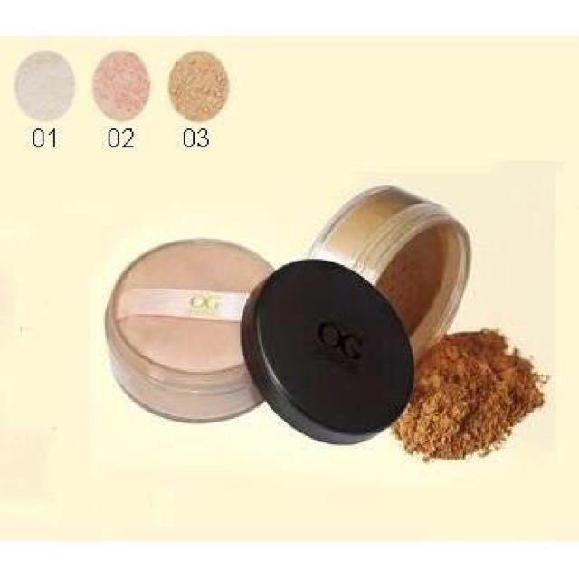 自然礦物蜜粉