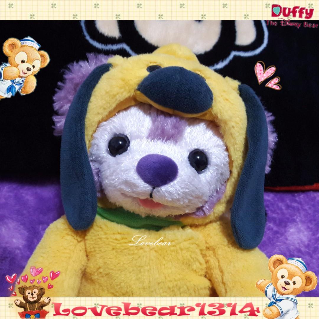 《展示-掛包染色整臉》香港達菲熊 掛包