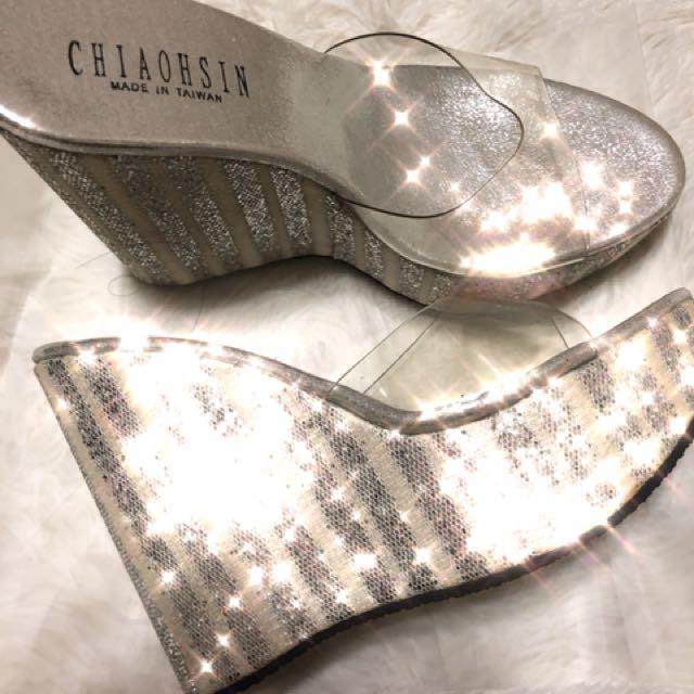 楔形拖鞋 楔形涼鞋