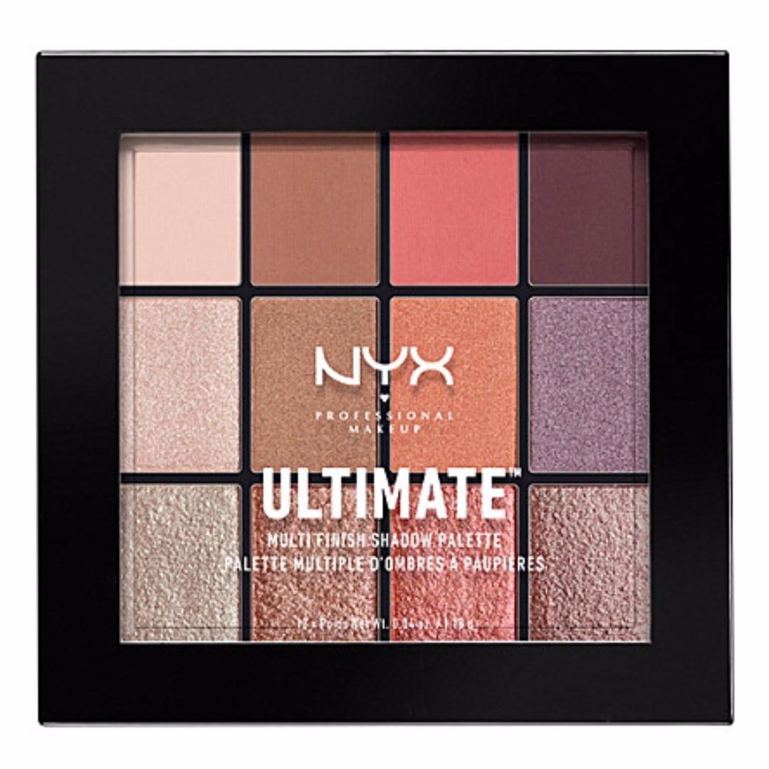 (現貨) NYX 12色眼影盤_Ultimate shadow palette (Super High)