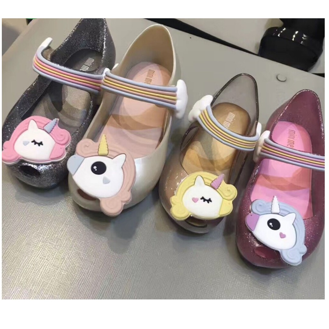 🍭 PO  NEW  Mini Melissa Ultragirl Unicorn US 5-12 (FREE NORMAL MAIL ... 9a376a88b