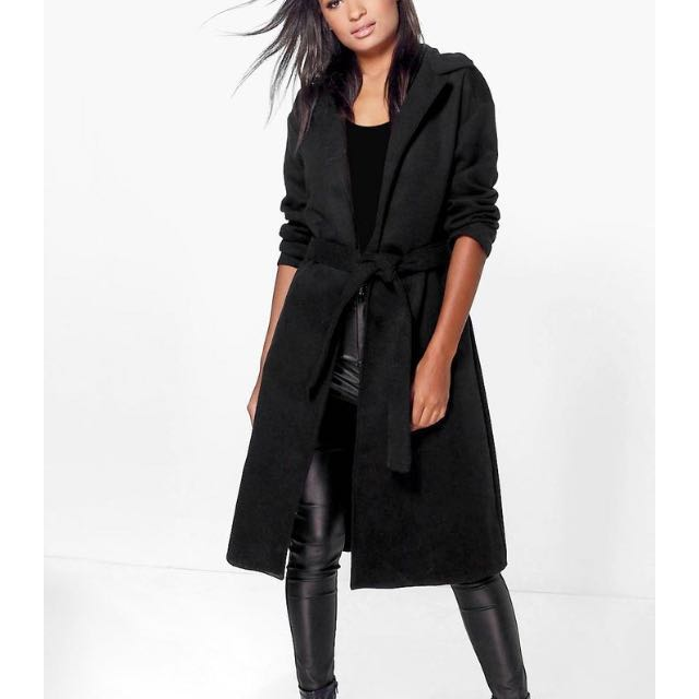 ✨ Reduced ✨Boohoo Black Coat