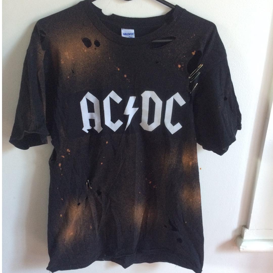 ACDC Customised tee