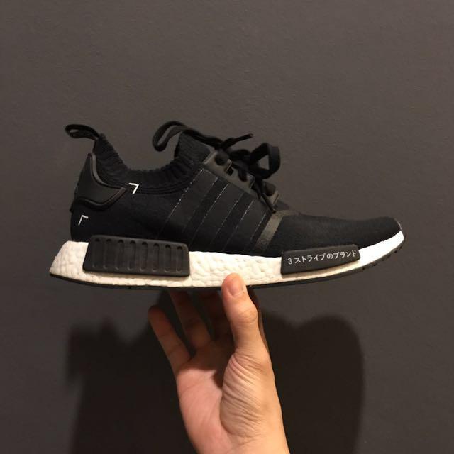 size 40 f2a51 dae3c Adidas NMD R1 PK Japan Black OG, Men's Fashion, Footwear on ...