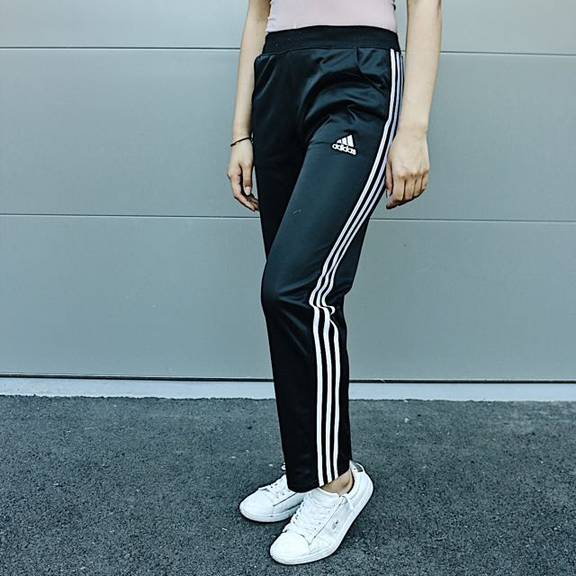 adidas skinny leg tracksuit