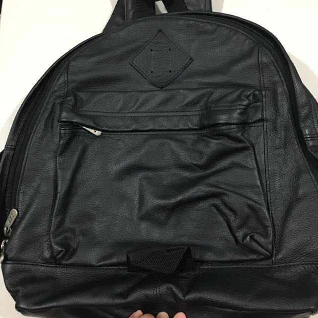 APC Leather Backpack