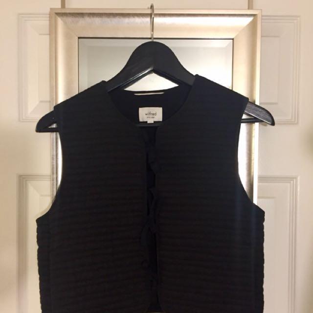 Aritzia Wilfred Vest XS