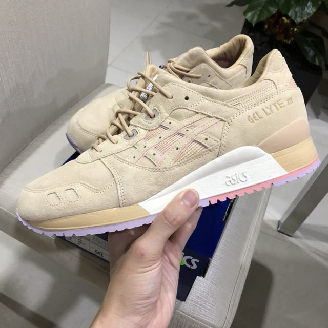 Authentique Asics , x Clot Homme Gel Lyte III Sable , Asics Mode Homme , Chaussures 3f15f07 - kyomin.website