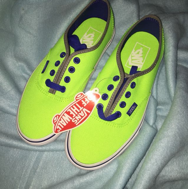 Authentic brand new neon Vans b29d4d610
