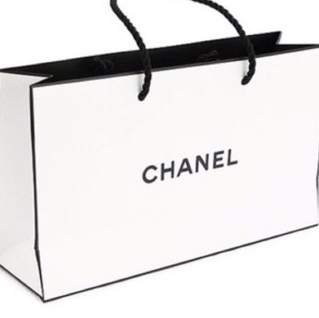 60f9c43bd9df Authentic Chanel Gift Paper Bag! (NEW), Women's Fashion, Bags ...