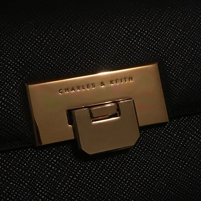 Authentic Charles & Keith wristlet wallet