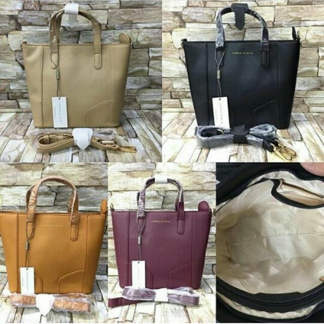 Authentic Charles And Keith Bag (Medium Size)