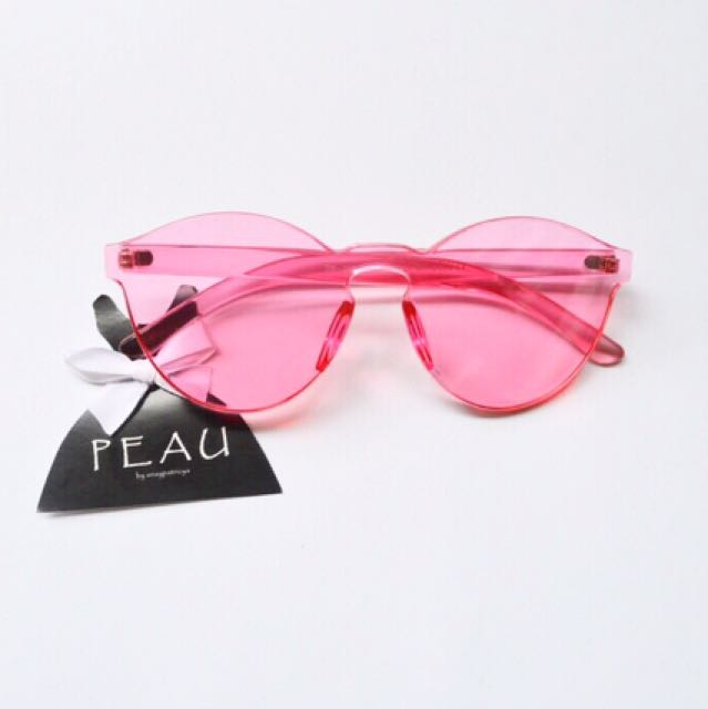 Baby pink jelly sunnies