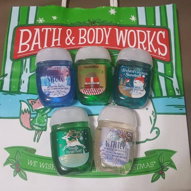 Bath And Body Works Hand Sanitizer Christmas