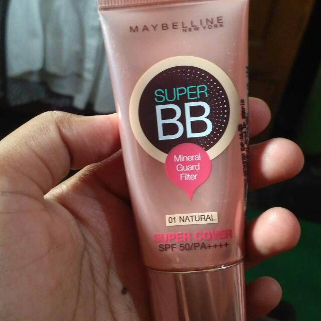 BB cream maybelline super cover