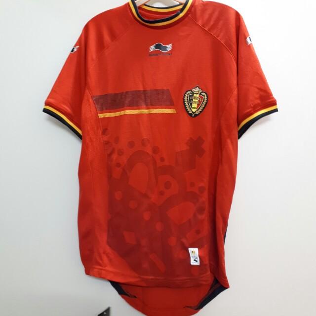 b9099df74 Belgium National Football Team Home jersey