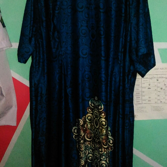 Big Size Dress Batik
