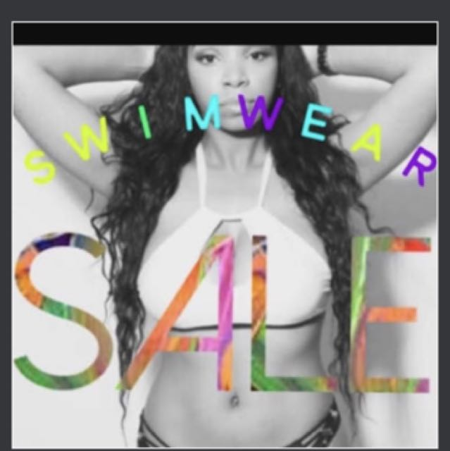 Bikini sale! 70% off big brands. Send an offer