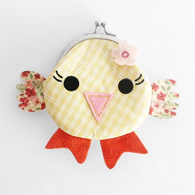 Bird coin purse