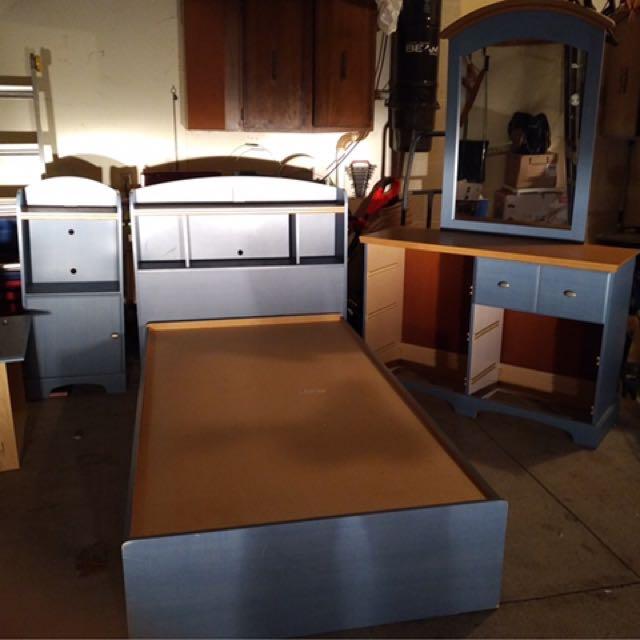 Blue Captain Bed Set